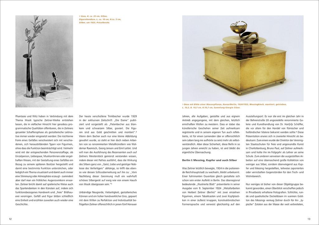 Zeichnerischer Entwurf zum Meisterstück, Hanau/Berlin, 1924, Karton, Transparentpapier, Bleistift, Tusche, Privatbesitz